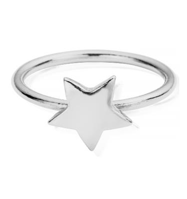 Buy ChloBo Silver Star Ring Medium
