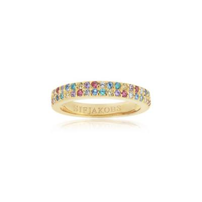Buy Sif Jakobs Gold Corte Due Ring (56)