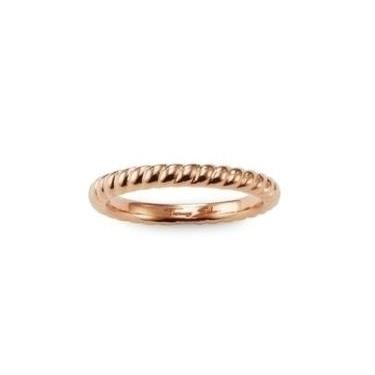 Buy Thomas Sabo Twist Ring Rose-Gold Plated Size 56