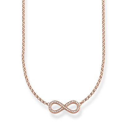 Buy Thomas Sabo The Eternity of Love Rose Gold Necklace