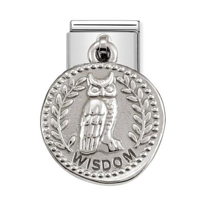 Buy Nomination Silver Owl Wisdom Charm