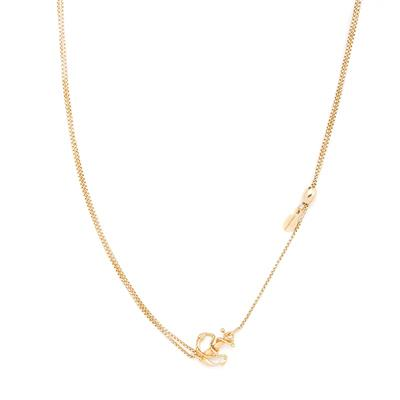 Buy Alex and Ani Anchor Precious Pull Chain Necklace in Gold
