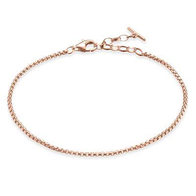 Buy Thomas Sabo Rose Gold Chain Bracelet 19.5cm