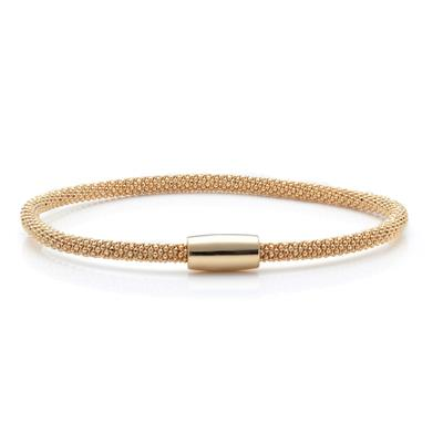 Buy Pure Attraction Thin Gold Mesh Bracelet