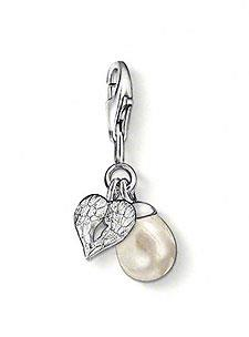 Buy Thomas Sabo Pearl with Winged Heart Charm