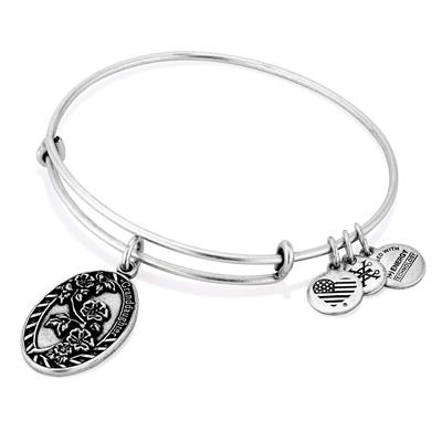 Buy Alex and Ani Because I Love You Granddaughter in Rafaelian Silver