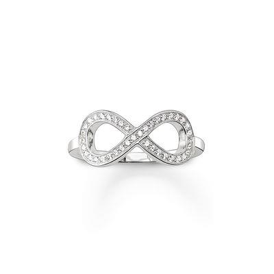 Buy Thomas Sabo Eternity Silver Ring Size 52