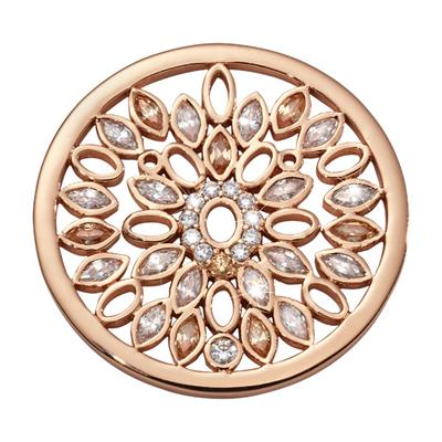 Buy Nikki Lissoni Rose Gold Catch My Dreams Coin 33mm
