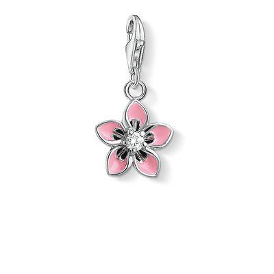 Buy Thomas Sabo Pink Tropical Flower Charm