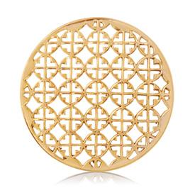 Buy Nikki Lissoni Gold You're My Target Coin 43mm
