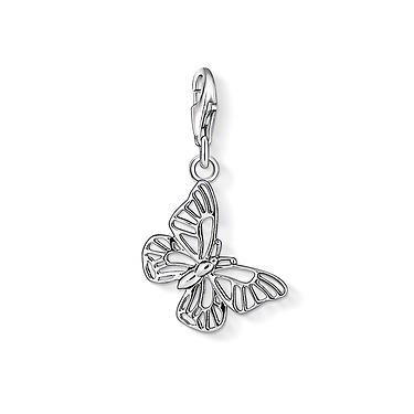 Buy Thomas Sabo Silver Butterfly Charm