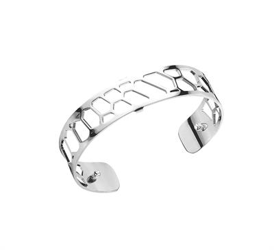 Buy Les Georgettes Silver Honeycomb Slim Cuff