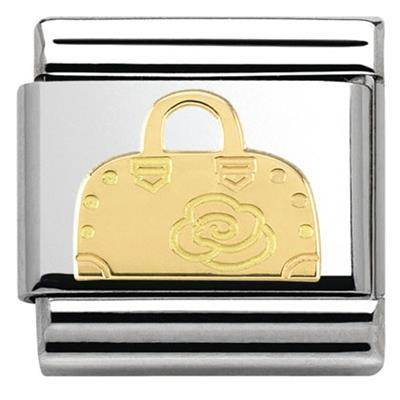 Buy Nomination Gold Rose Handbag Charm