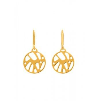 Buy Les Georgettes Gold Perroquet Earrings