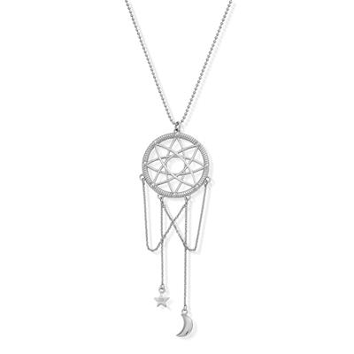 Buy ChloBo Dreamcatcher Necklace in Silver