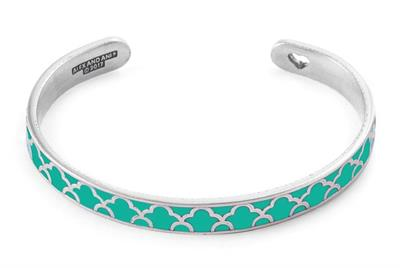 Buy Alex and Ani Island Teal Colour Infusion Cuff