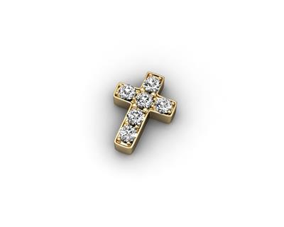 Buy Key Moments Gold Crystal Cross Moment