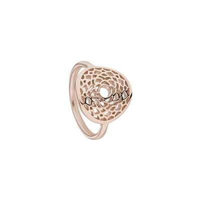 Buy Daisy Crown Chakra Rose Gold Ring Small