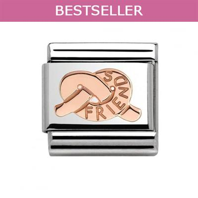 Buy Nomination Rose Gold Knot of Friendship Charm