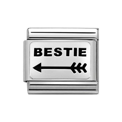 Buy Nomination Classic Silver Bestie Arrow Charm (Right)
