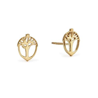 Buy Alex and Ani Unexpected Miracles Studs in Gold