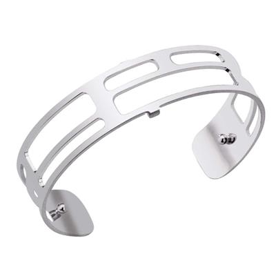 Buy Les Georgettes Slim Silver Labyrinth Cuff Bangle