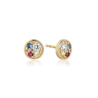 Buy Sif Jakobs Gold Novara Piccolo Stud Earrings