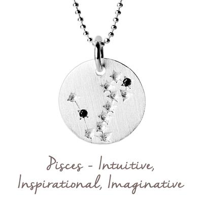 Buy Mantra Pisces Star Map in Silver