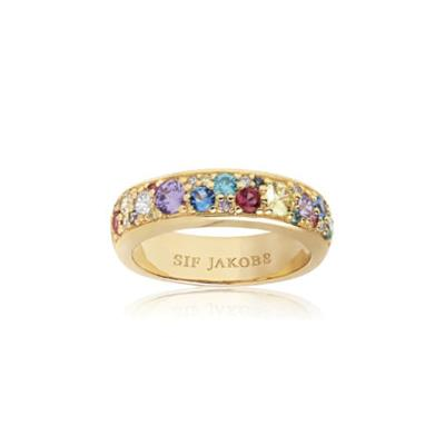 Buy Sif Jakobs Gold Novara Band Ring (54)