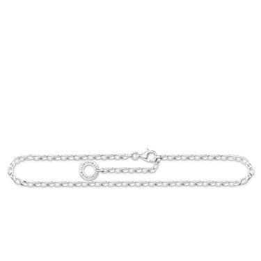 Buy Thomas Sabo Silver Belcher Charm Anklet Small