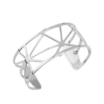 Buy Les Georgettes Medium Silver Solaire Cuff Bangle