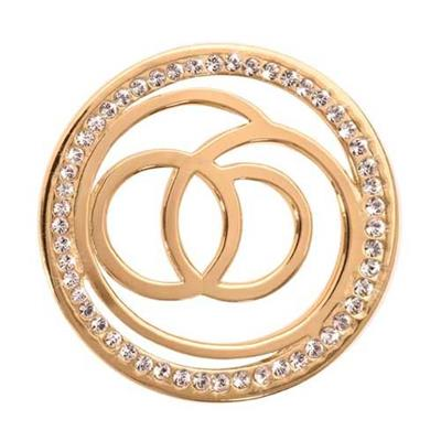 Buy Nikki Lissoni Sophisticated Gold Coin 33mm