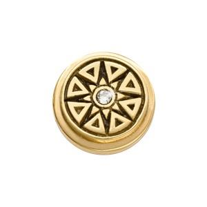 Buy Nikki Lissoni Yellow Gold New Star Ring Coin