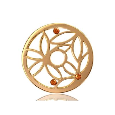 Buy Nikki Lissoni Gold Magic Bamboo Medium Coin 33mm