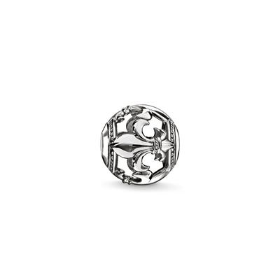 Buy Thomas Sabo Filigree Fleur-de-Lis Karma Bead Sterling Silver