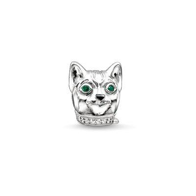 Buy Thomas Sabo Cat Silver Karma Bead