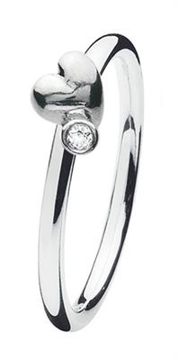 Buy Spinning Jewelry Heart Twist Ring