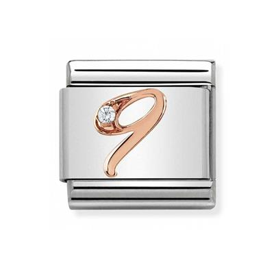 Buy Nomination Rose Gold Number 9