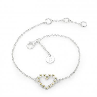 Buy Daisy 14mm Iota Heart Bracelet