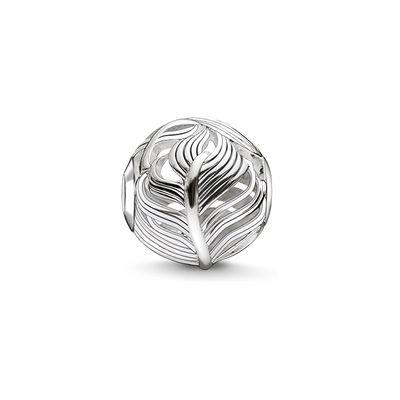 Buy Thomas Sabo Silver Feather Bead