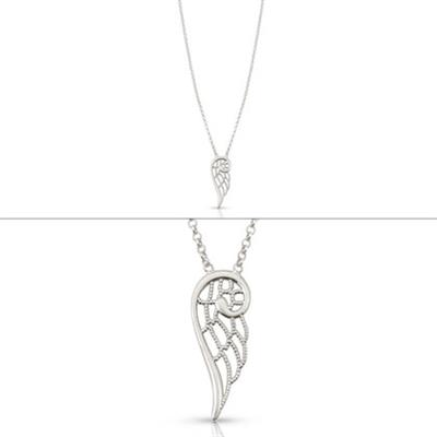 Buy Nomination Angel Necklace Small Silver