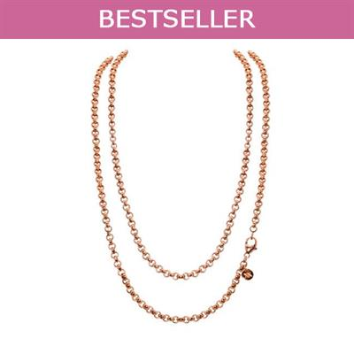 Buy Nikki Lissoni Rose Gold 60cm Chain