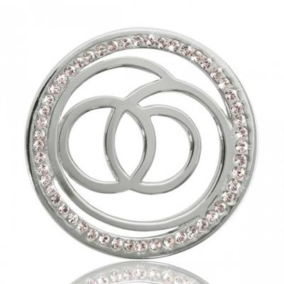 Buy Nikki Lissoni Sophisticated Silver Coin 33mm
