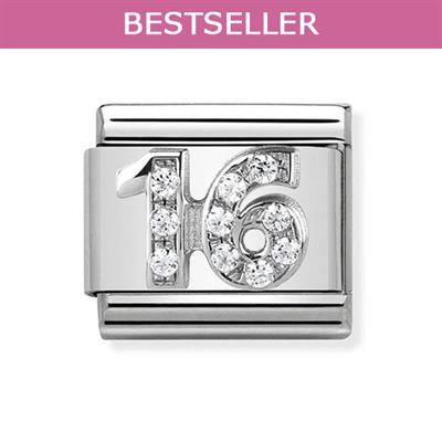 Buy Nomination Silver CZ 16