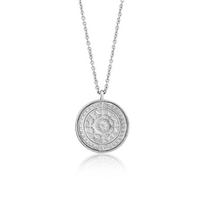 Buy Ania Haie Coins Silver Virginia Sun Necklace