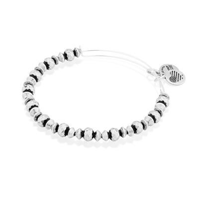 Buy Alex and Ani Canyon Beaded Bangle Rafaelian Silver