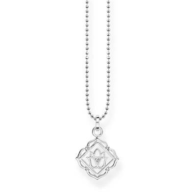 Buy Thomas Sabo Silver Root Chakra Necklace with CZ