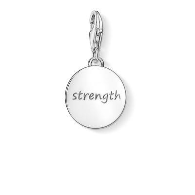 Buy Thomas Sabo Strength Silver Disc Charm