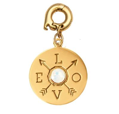 Buy Nikki Lissoni Show Me The Love Gold Charm