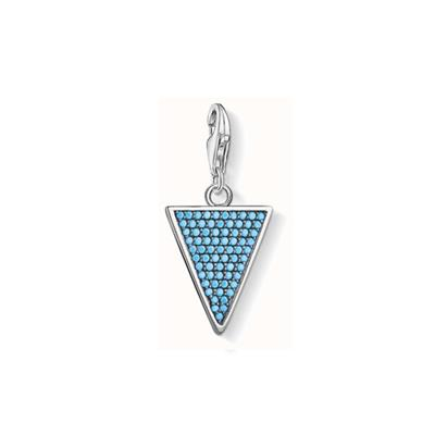 Buy Thomas Sabo Turquoise Triangle Charm